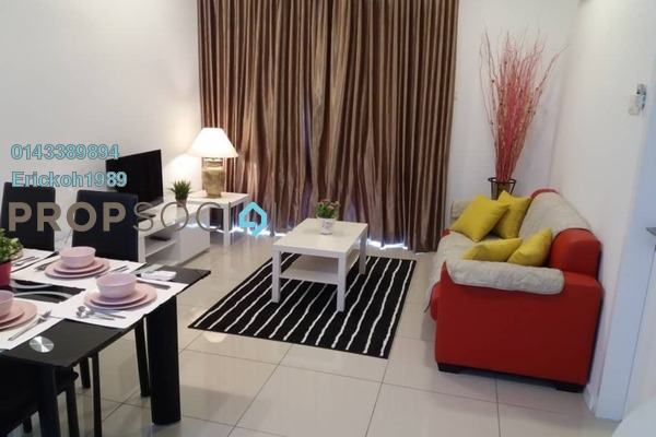 For Rent Condominium at Urbana Residences @ Ara Damansara, Ara Damansara Freehold Fully Furnished 2R/2B 2.45k