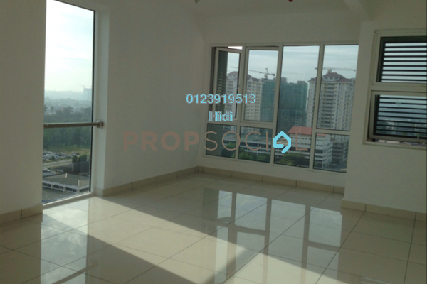 For Rent SoHo/Studio at De Centrum Residences, Kajang Freehold Unfurnished 0R/1B 1.1k
