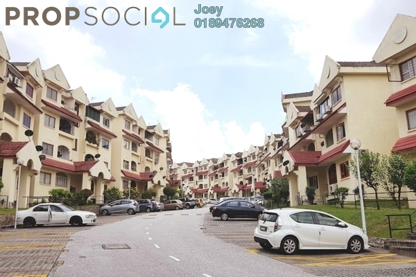 For Rent Condominium at Lafite Apartment, Subang Jaya Freehold Fully Furnished 3R/2B 1.7k