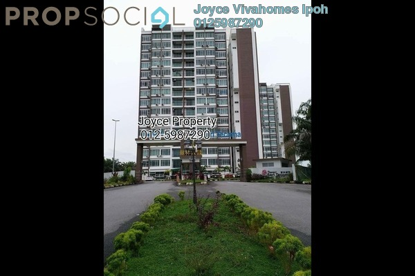 For Rent Condominium at Bandar Seri Botani, Ipoh Freehold Fully Furnished 3R/2B 1.5k