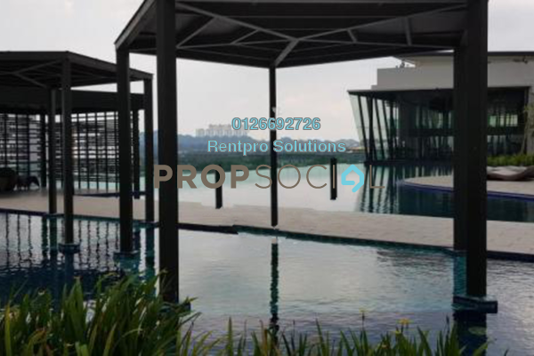 For Rent Apartment at Parkhill Residence, Bukit Jalil Freehold Semi Furnished 3R/2B 2k
