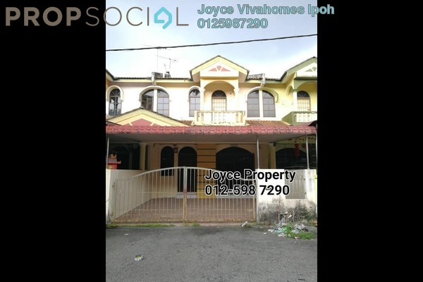 For Sale Terrace at Taman Song Choon, Ipoh Leasehold Unfurnished 4R/3B 270k