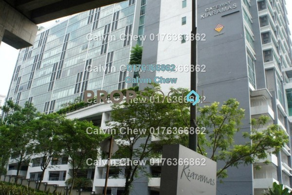 For Sale Condominium at Gateway Kiaramas, Mont Kiara Freehold Unfurnished 3R/2B 810k