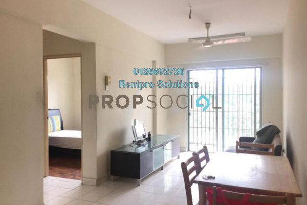 For Rent Apartment at Arena Green, Bukit Jalil Freehold Semi Furnished 2R/2B 1.1k