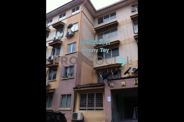 For Rent Apartment at Saujana Apartment, Damansara Damai Freehold Semi Furnished 3R/2B 700translationmissing:en.pricing.unit