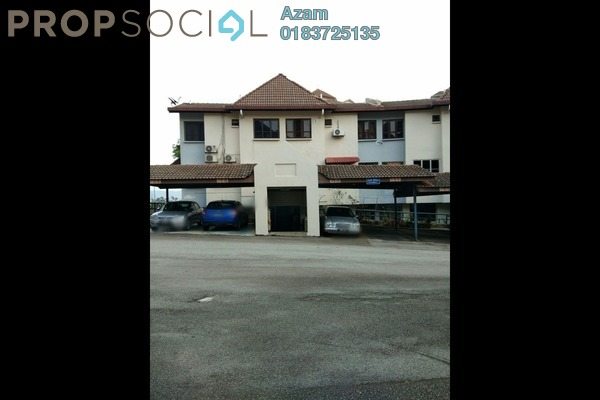 For Sale Townhouse at Sri Ayu, Setiawangsa Freehold Fully Furnished 4R/3B 699k