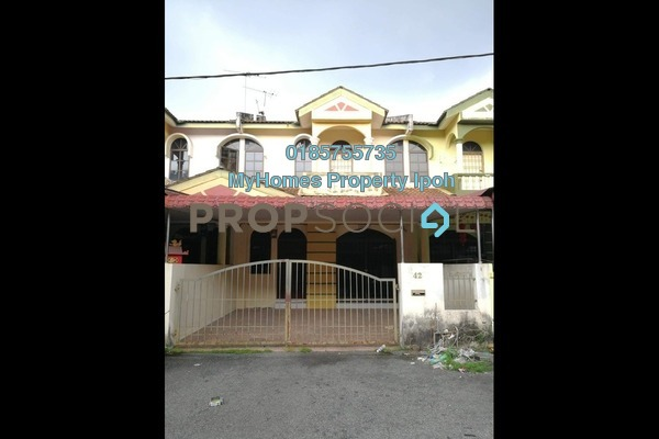For Sale Terrace at Taman Song Choon, Ipoh Leasehold Semi Furnished 4R/3B 270k