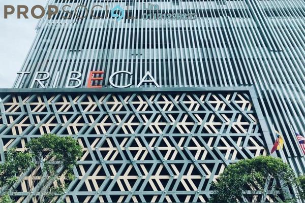 For Rent SoHo/Studio at Tribeca, Bukit Bintang Freehold Fully Furnished 0R/1B 3.2k