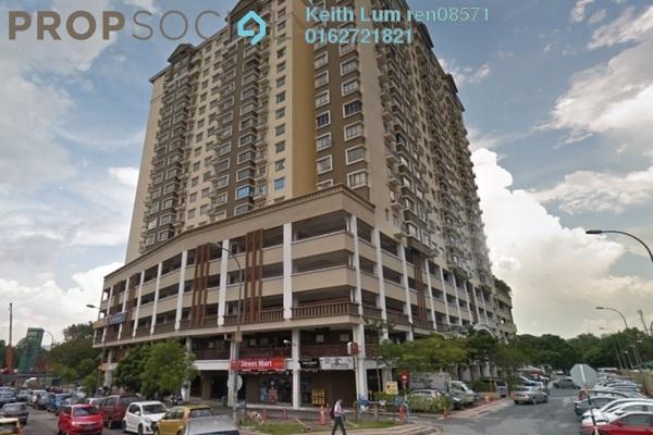 For Rent Condominium at 1 Petaling, Sungai Besi Freehold Semi Furnished 3R/2B 1.4k