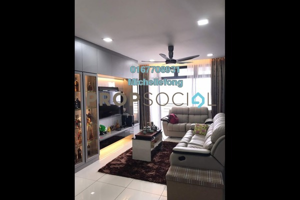 For Rent Condominium at 1Tebrau, Johor Bahru Freehold Fully Furnished 3R/2B 2.2k