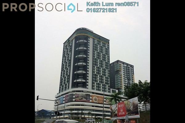 For Rent Condominium at Zeva, Bandar Putra Permai Freehold Semi Furnished 1R/1B 1.2k