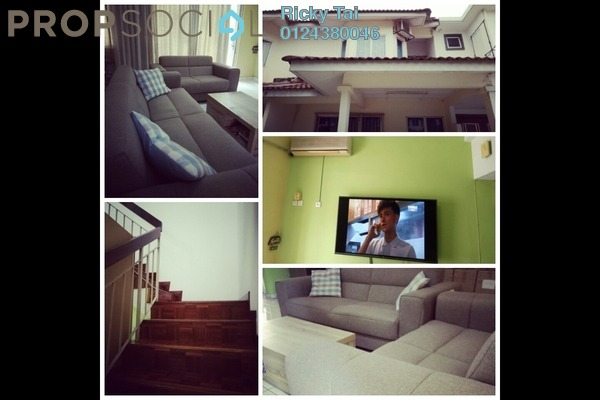 For Sale Terrace at PU9, Bandar Puchong Utama Freehold Fully Furnished 4R/3B 530k