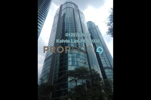 For Rent Office at The Vertical, Bangsar South Freehold Semi Furnished 1R/1B 6.97k