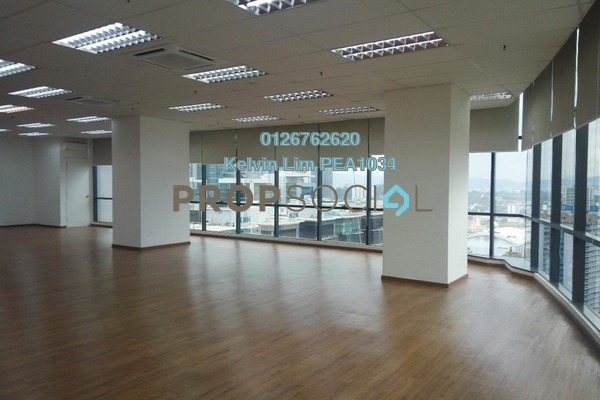 For Rent Office at The Vertical, Bangsar South Freehold Semi Furnished 1R/1B 13.7k