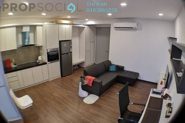 For Rent SoHo/Studio at Silk Sky, Balakong Freehold Fully Furnished 1R/1B 1.1k