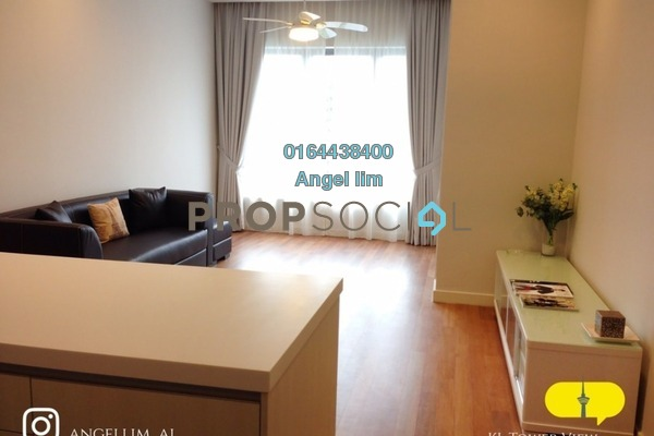 For Rent Condominium at 6 Ceylon, Bukit Ceylon Freehold Fully Furnished 2R/2B 3k
