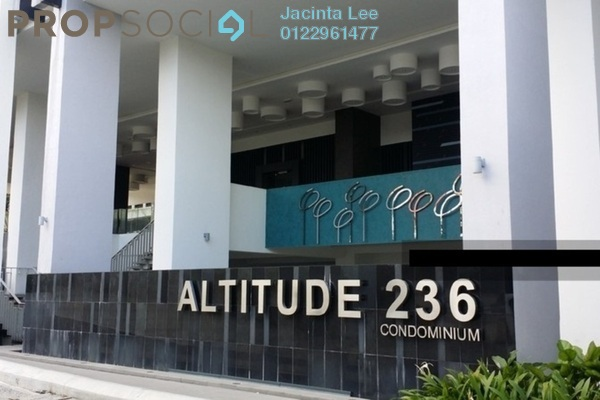 For Sale Condominium at Altitude 236, Cheras Freehold Semi Furnished 4R/4B 656k