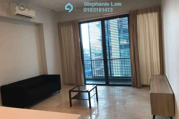 For Sale Condominium at Vogue Suites One @ KL Eco City, Mid Valley City Freehold Fully Furnished 2R/1B 990k