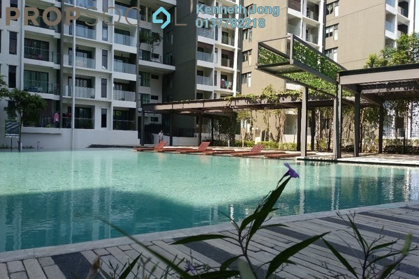For Rent Serviced Residence at Univ 360 Place, Seri Kembangan Freehold Fully Furnished 1R/1B 1.35k