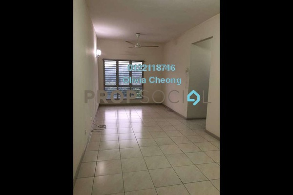 For Rent Apartment at Baiduri Courts, Bandar Bukit Puchong Freehold Semi Furnished 3R/2B 1.3k