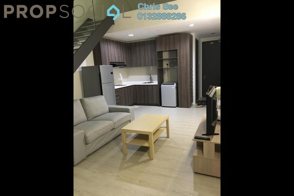 For Rent Duplex at One City, UEP Subang Jaya Freehold Fully Furnished 1R/1B 1.6k