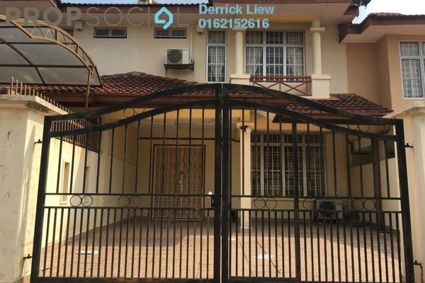 For Sale Terrace at Mahkota Walk, Bandar Mahkota Cheras Freehold Unfurnished 4R/3B 518k