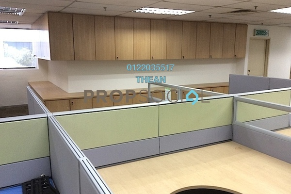 For Rent Office at Hicom Glenmarie, Glenmarie Freehold Fully Furnished 0R/0B 75k