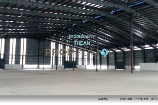 For Rent Factory at Kampung Telok Gong , Port Klang Freehold Unfurnished 0R/0B 71k