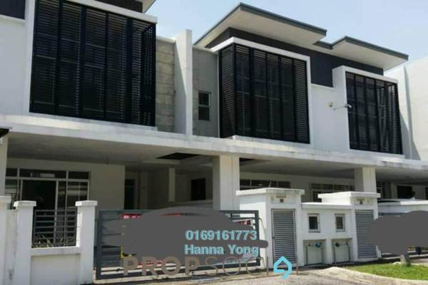 For Sale Terrace at Emerald West, Rawang Freehold Unfurnished 4R/4B 680k