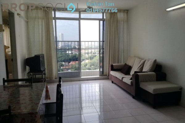 For Rent Apartment at Taman Kristal, Tanjung Tokong Freehold Semi Furnished 3R/2B 900translationmissing:en.pricing.unit