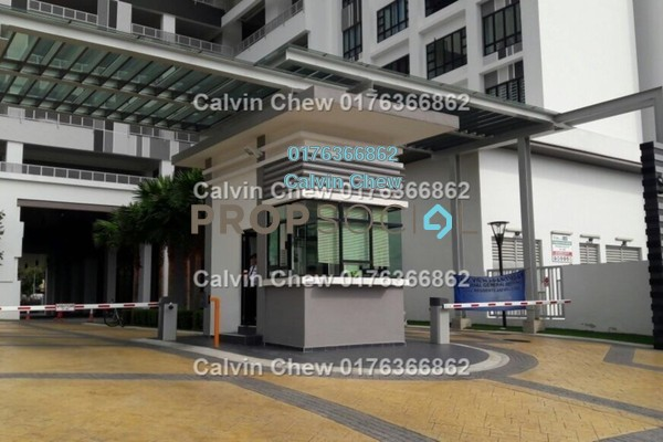 For Sale Serviced Residence at Sky View, Bukit Indah Freehold Unfurnished 2R/2B 370k
