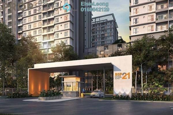 For Rent Serviced Residence at BSP 21, Bandar Saujana Putra Freehold Semi Furnished 3R/2B 1.6k