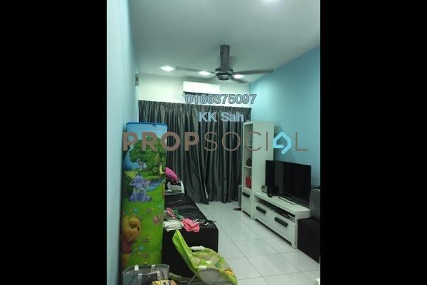 For Sale Townhouse at Bandar Damai Perdana, Cheras South Freehold Semi Furnished 3R/2B 418k