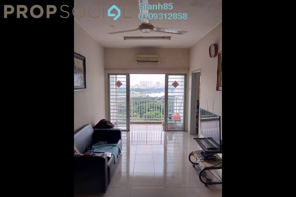 For Sale Condominium at Symphony Heights, Selayang Freehold Semi Furnished 3R/2B 358k