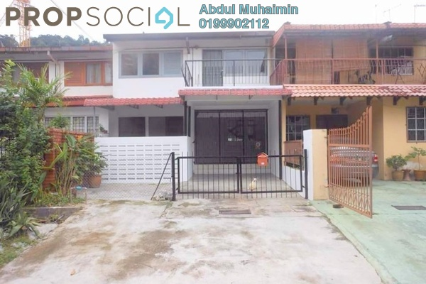 For Rent Terrace at Taman Melawati, Melawati Freehold Unfurnished 4R/3B 1.8k