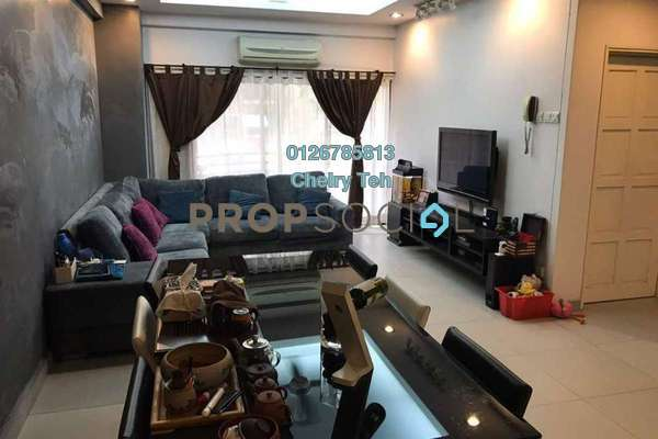 For Sale Condominium at Desa Villa, Taman Desa Freehold Semi Furnished 3R/2B 680k