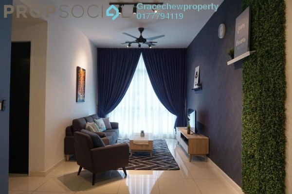 For Rent Apartment at Setia Sky 88, Johor Bahru Freehold Fully Furnished 1R/2B 2.38k