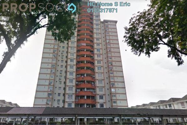 For Rent Apartment at Casa Ria, Cheras Freehold Unfurnished 3R/2B 1.35k