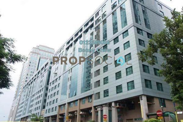 For Rent Office at Megan Avenue 1, KLCC Freehold Semi Furnished 0R/0B 4.4k