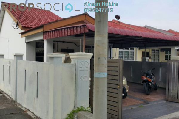 For Sale Terrace at Taman Pinggiran Cyber, Cyberjaya Freehold Semi Furnished 4R/2B 390k