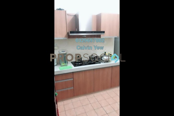 For Rent Condominium at Juta Mines, Seri Kembangan Freehold Fully Furnished 3R/2B 1.2k