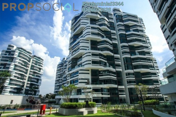 For Sale Serviced Residence at AraGreens Residences, Ara Damansara Freehold Semi Furnished 4R/4B 1.45m