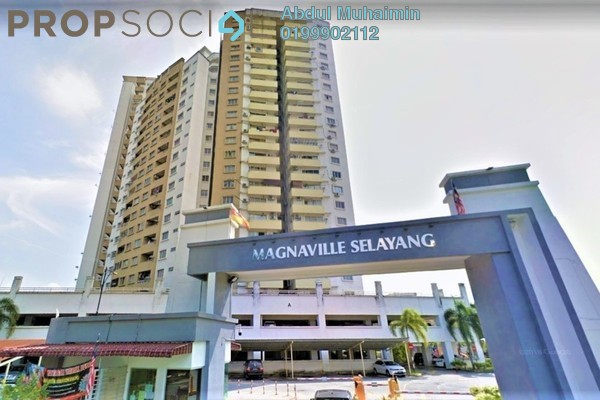 For Rent Condominium at Magna Ville, Selayang Freehold Semi Furnished 3R/2B 1.1k