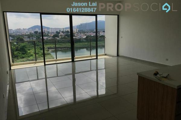 For Rent Condominium at Lakeville Residence, Jalan Ipoh Freehold Semi Furnished 3R/2B 2.2k