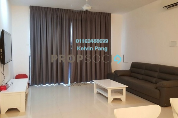 For Sale Condominium at Vertiq, Gelugor Freehold Fully Furnished 3R/2B 850k