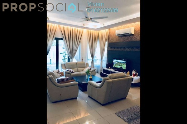 For Sale Superlink at Bukit Wangsamas, Wangsa Maju Freehold Semi Furnished 6R/4B 1.95m