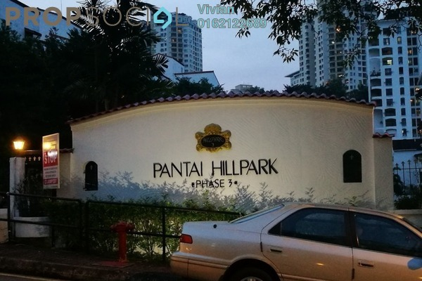 For Sale Condominium at Pantai Hillpark 3, Pantai Freehold Semi Furnished 3R/2B 630k