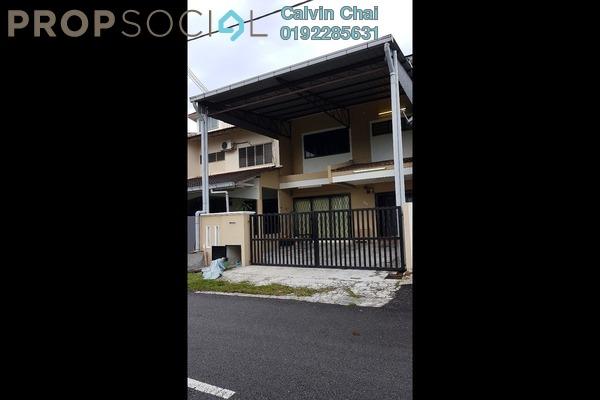 For Rent Terrace at Taman Bukit Kajang Baru, Kajang Freehold Semi Furnished 4R/3B 1.4k