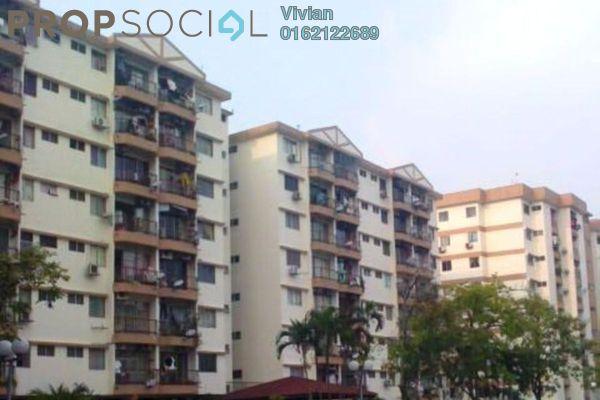 For Sale Condominium at Brem Park, Kuchai Lama Freehold Semi Furnished 3R/2B 379k