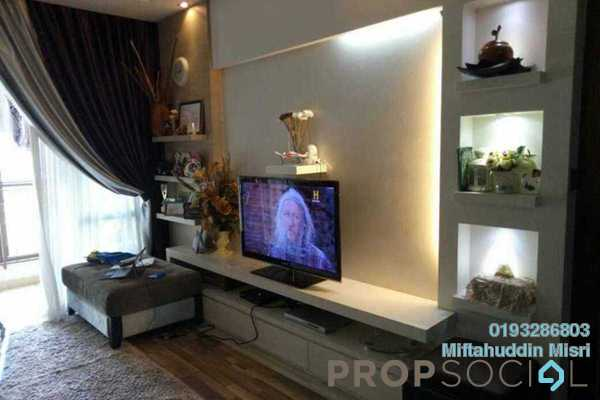 For Sale Condominium at Desa Putra, Wangsa Maju Freehold Semi Furnished 4R/2B 707k